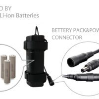 Magicshine® MJ-6102 7.4V 7.8Ah Battery Pack --Round Plug (5.6x2.1mm, 1pin)