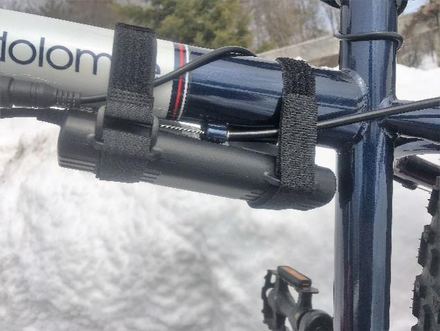 bike light battery pack