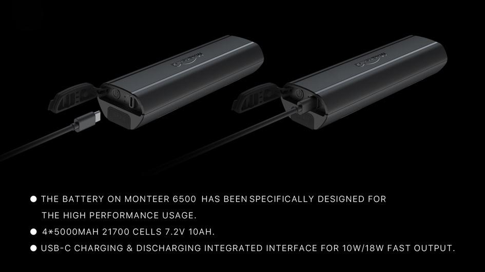Monteer 6500 battery