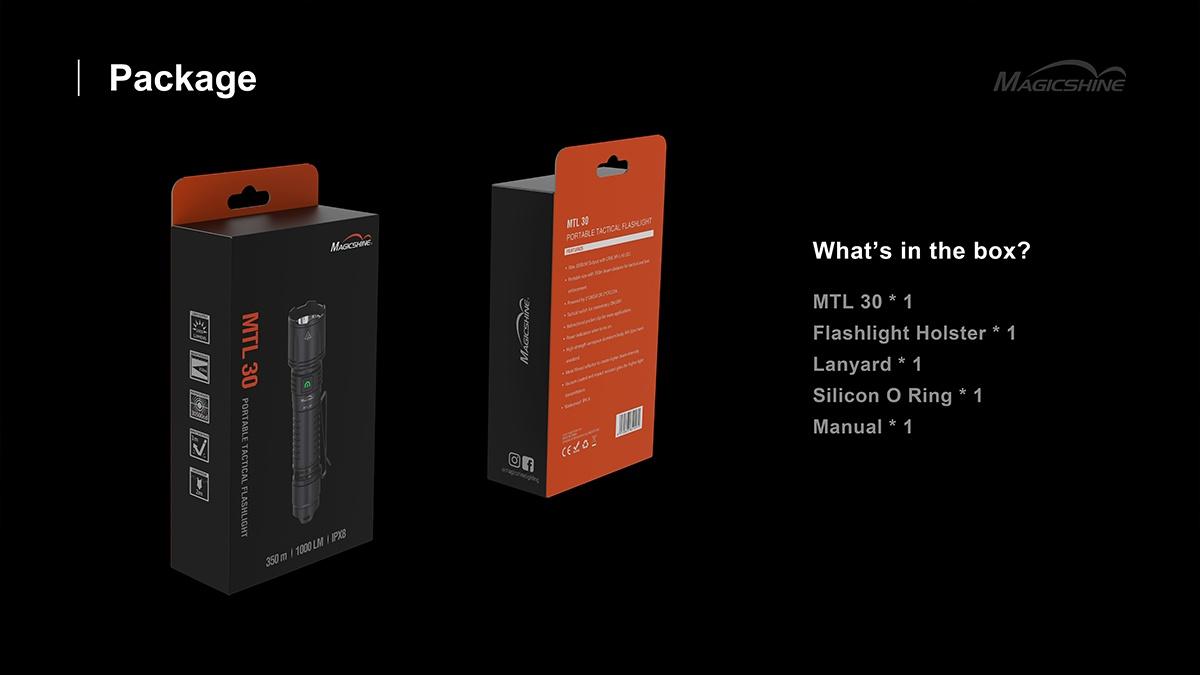 Magicshine flashlight