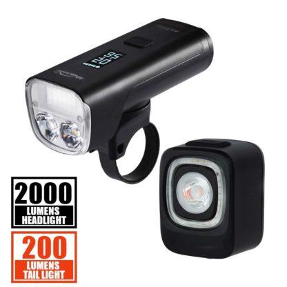 Magicshine® Road Bike Lights Set Allty 2000 + Seemee 200