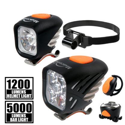 Magicshine® Extreme Bike Light Combo for MTB