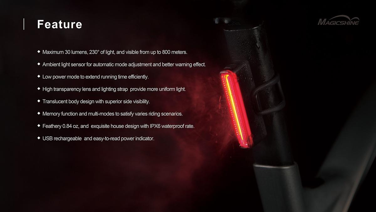bike tail light set